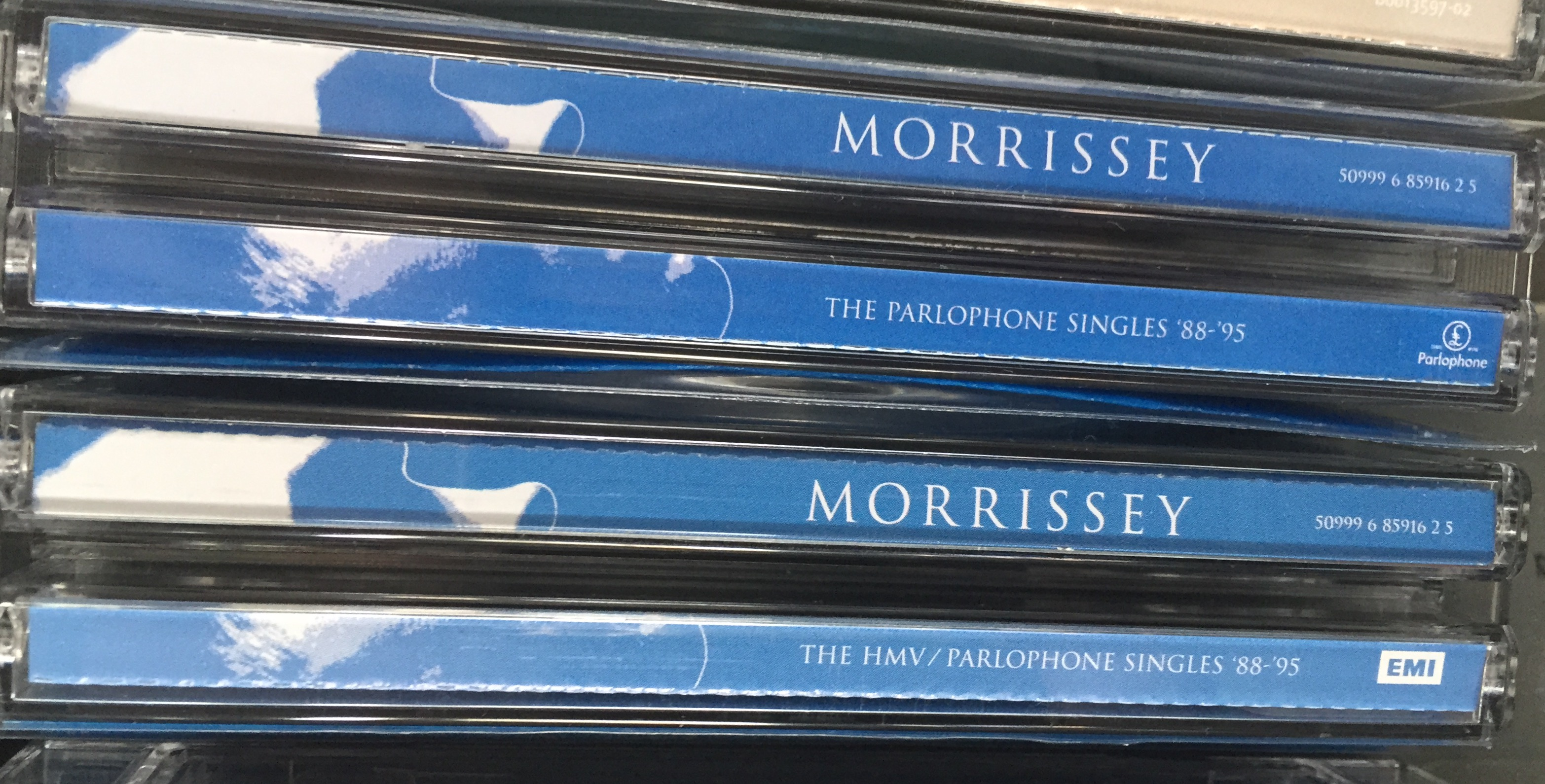 Morrissey - Five Seconds To Spare - A Collector's Page